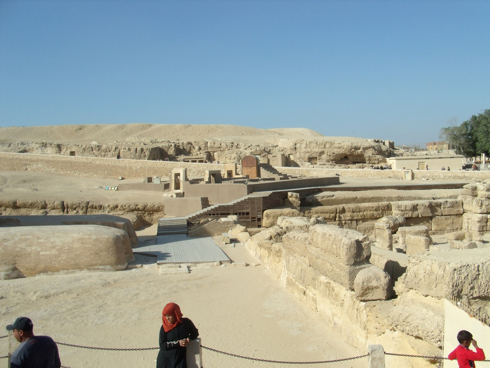 Sphinx Complex: Site: Giza; View: Temple of Amenhetep II