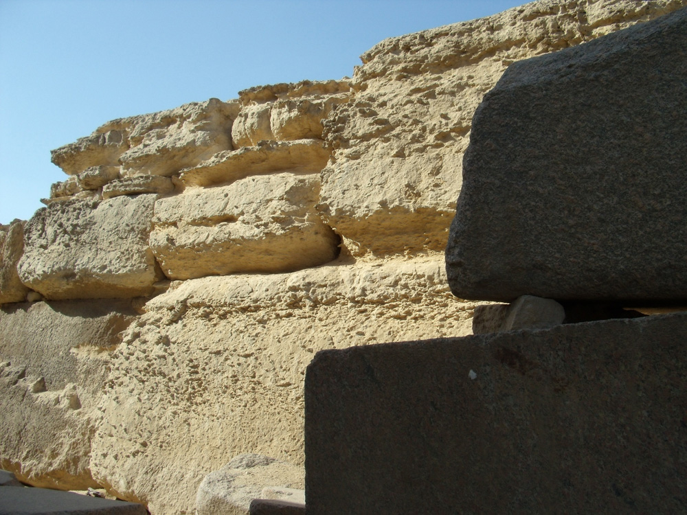 Khafre Pyramid Complex and Sphinx Complex: Site: Giza; View: Sphinx Temple