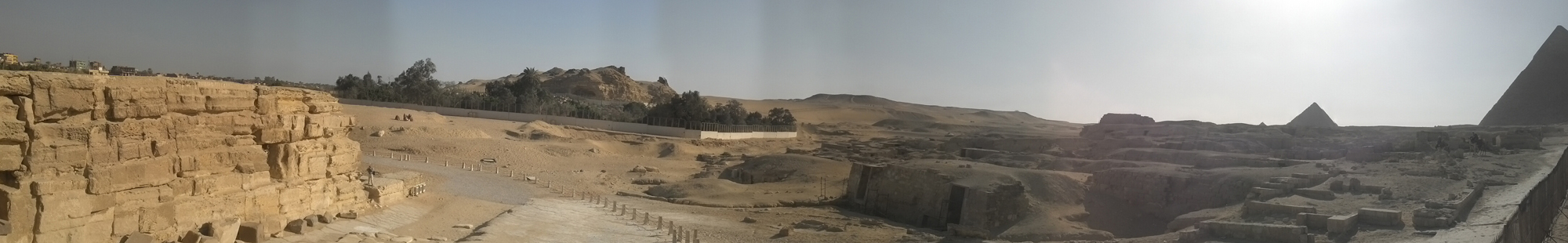 Khafre Pyramid Complex, Central Field: Site: Giza; View: Khafre Valley Temple, Central Field
