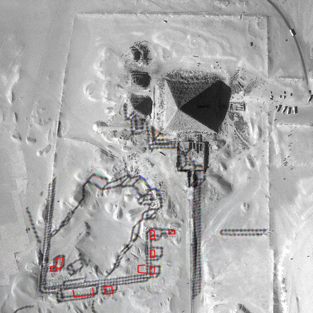 Maps and plans: Site: Giza; View: Menkaure Quarry