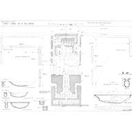 Maps and plans: Khafre Pyramid Temple, plan