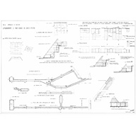 Maps and plans: Khafre Pyramid, plans and sections