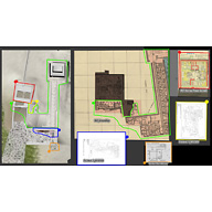 Maps and plans: Site: Giza; View: Menkaure Valley Temple