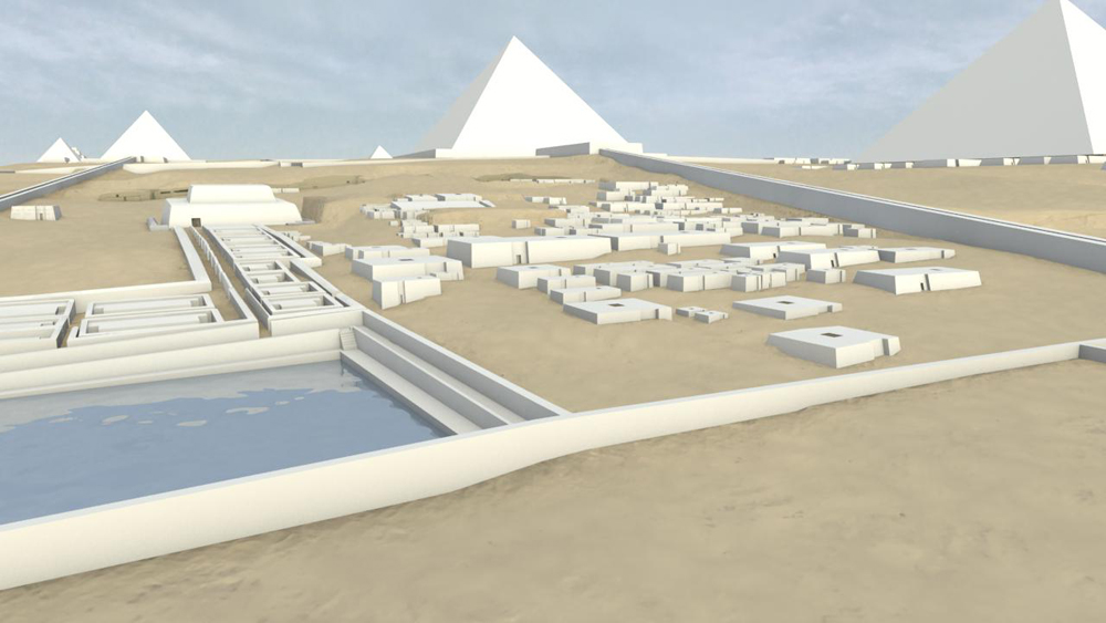 Central Field model: Site: Giza; View: G 8400 (model)