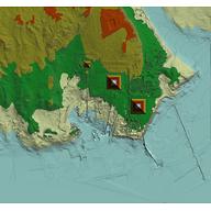 Giza Plateau: Site: Giza; View: Giza Plateau (GIS map)