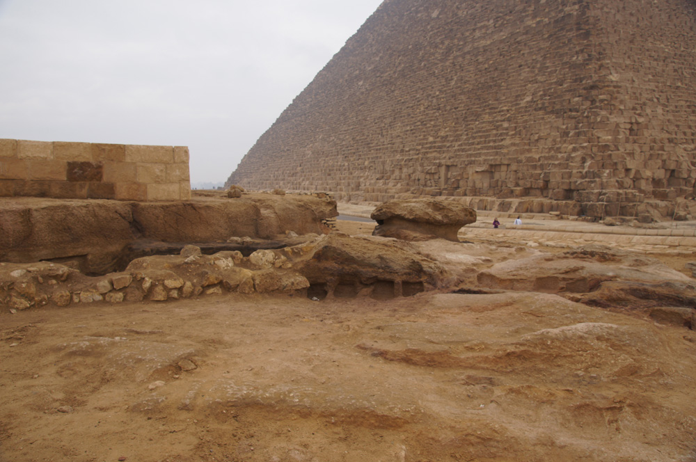 Khufu Pyramid Complex, Western Cemetery: Site: Giza; View: Western Cemetery, G 5411, Khufu Pyramid