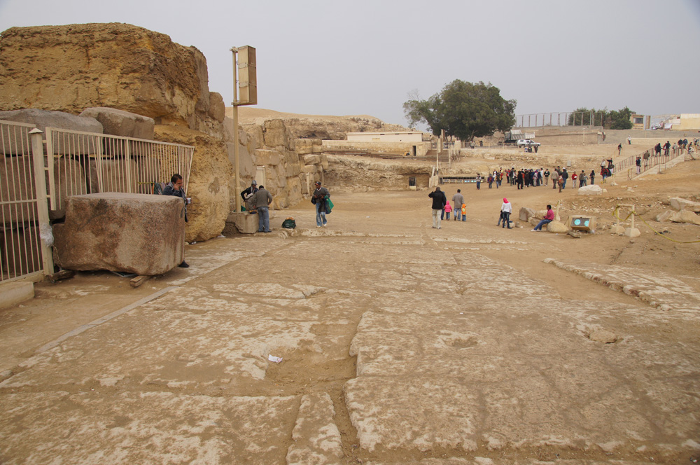 Sphinx Complex: Site: Giza; View: Sphinx Temple