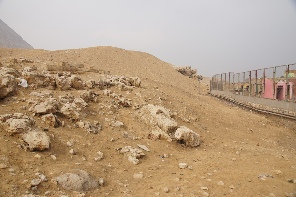 Eastern Cemetery: Site: Giza; View: Cemetery G 7000 SE