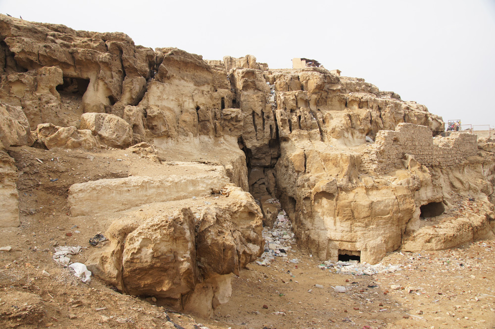 Eastern Cemetery: Site: Giza; View: Service Tomb 2, Service Tomb 5, Service Tomb 6, Service Tomb 7, Service Tomb 8