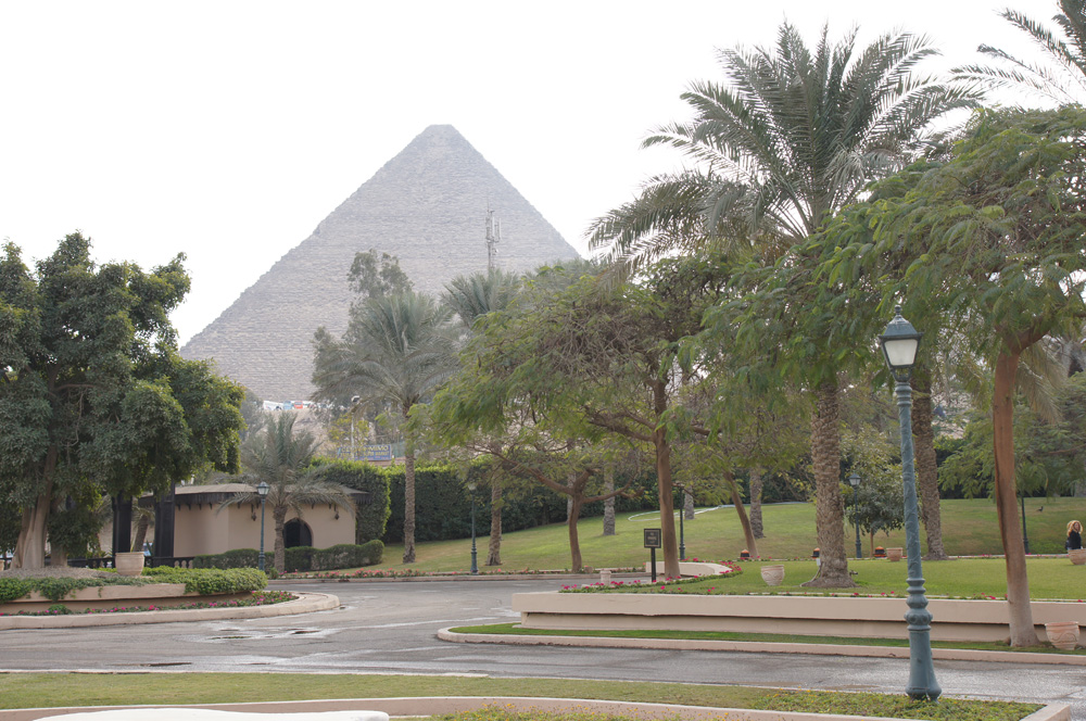 General view: Site: Giza