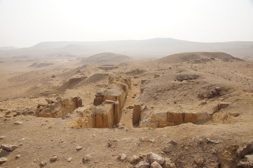 Menkaure Quarry Cemetery: Site: Giza; View: MQ 1
