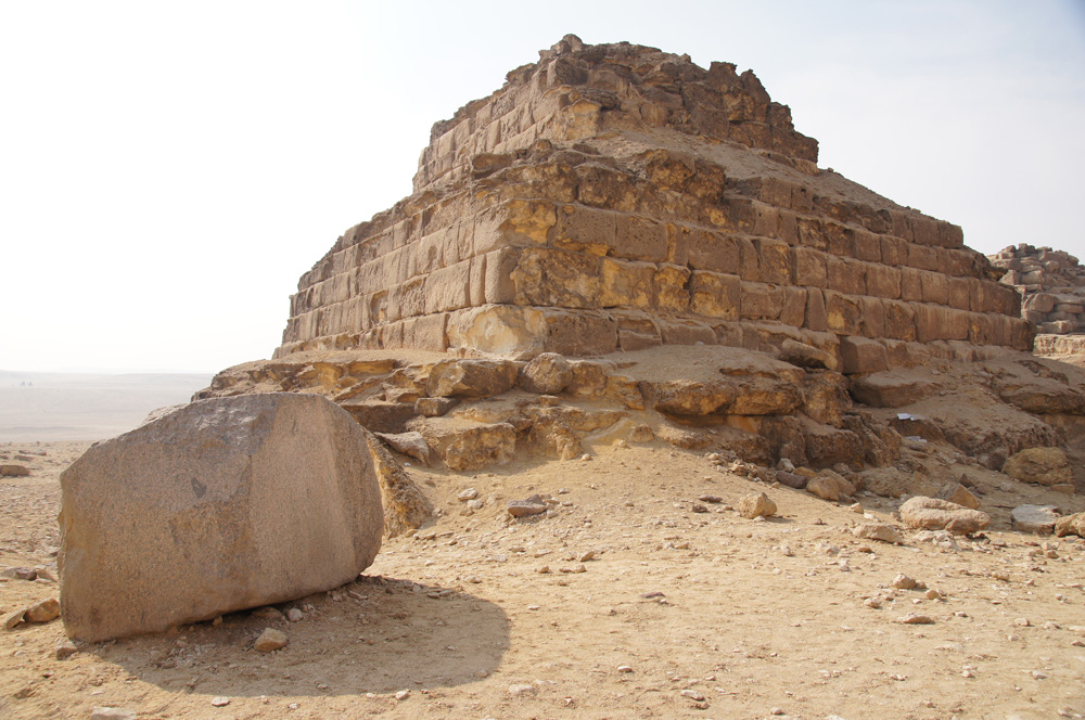 Menkaure Pyramid Complex: Site: Giza; View: G III-b, G III-c