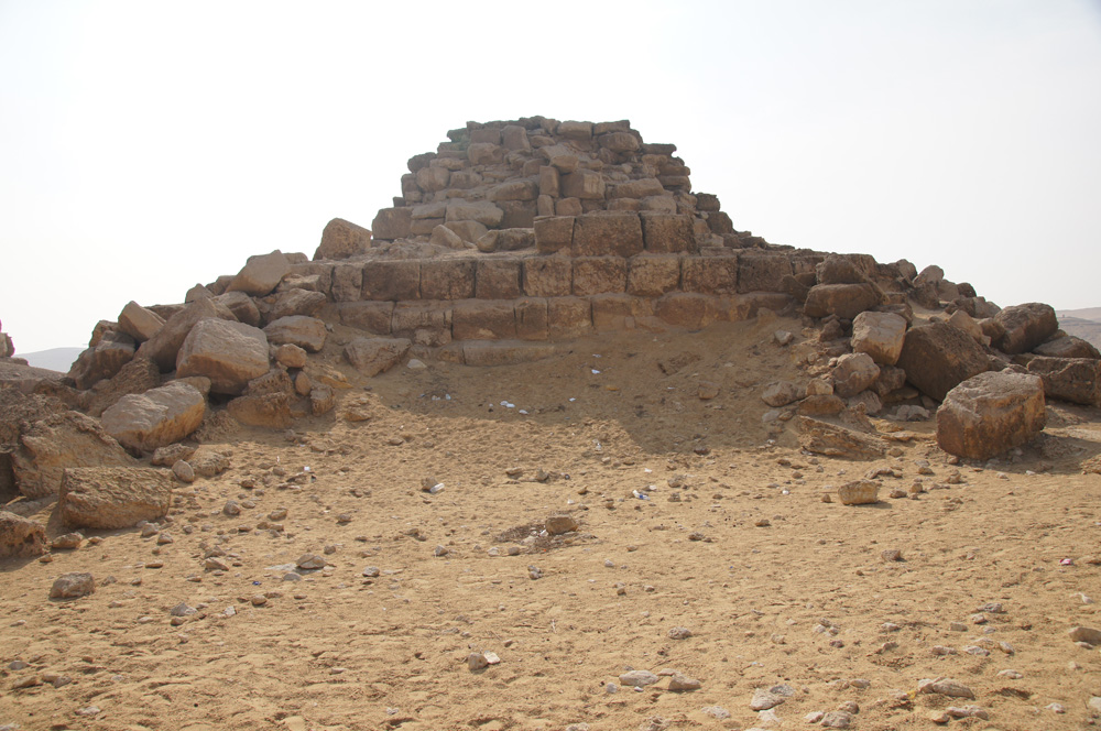 Menkaure Pyramid Complex: Site: Giza; View: G III-c