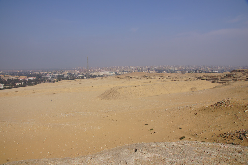 General View: Site: Giza; View: Western Cemetery