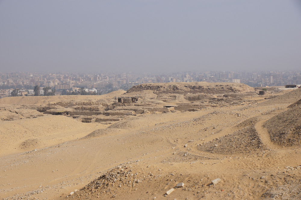 Western Cemetery: Site: Giza; View: G 2000, Cemetery G 1200