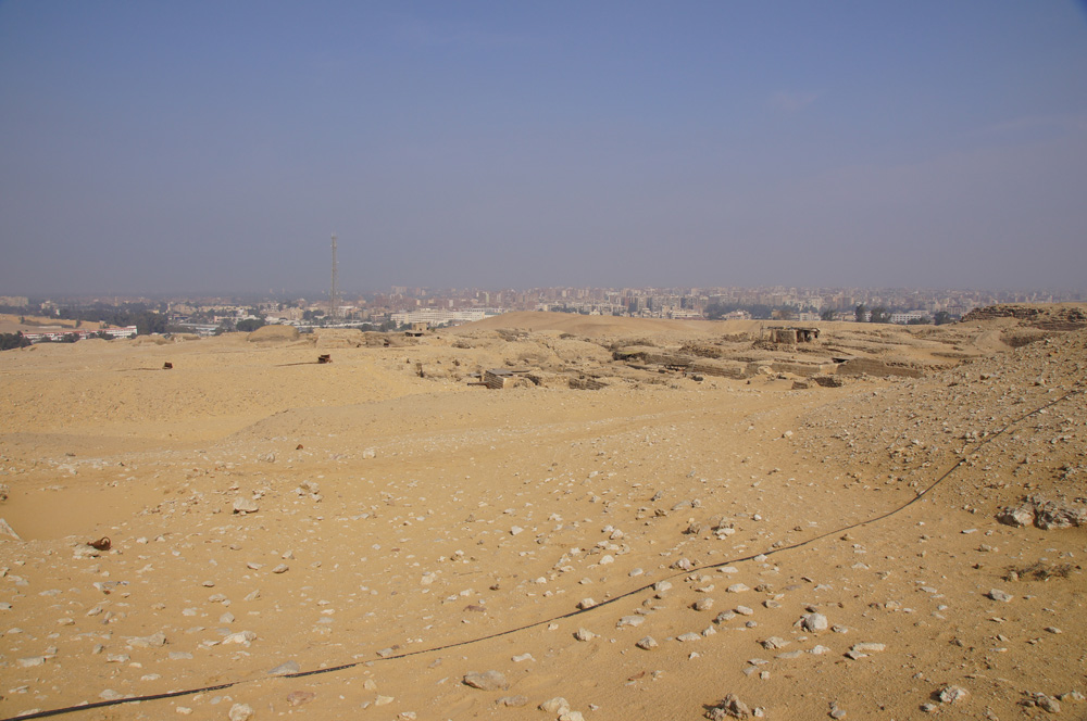 Western Cemetery: Site: Giza; View: Lepsius 19, G 2000, Cemetery G 1200, Cemetery G 1700, Cemetery G 1800