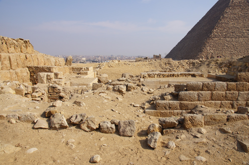 Western Cemetery: Site: Giza; View: G 2220, G 2150, G 2134, G 2137, G 2138, G 2139, G 2151, G 2156'