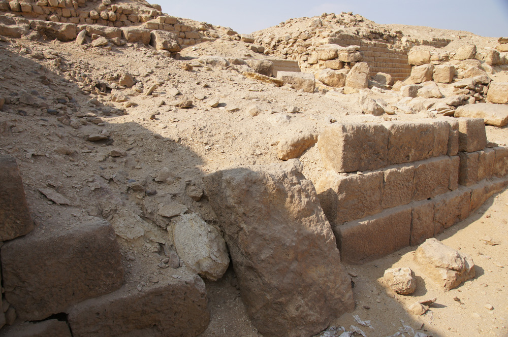 Western Cemetery: Site: Giza; View: G 2132, G 2150, G 2210