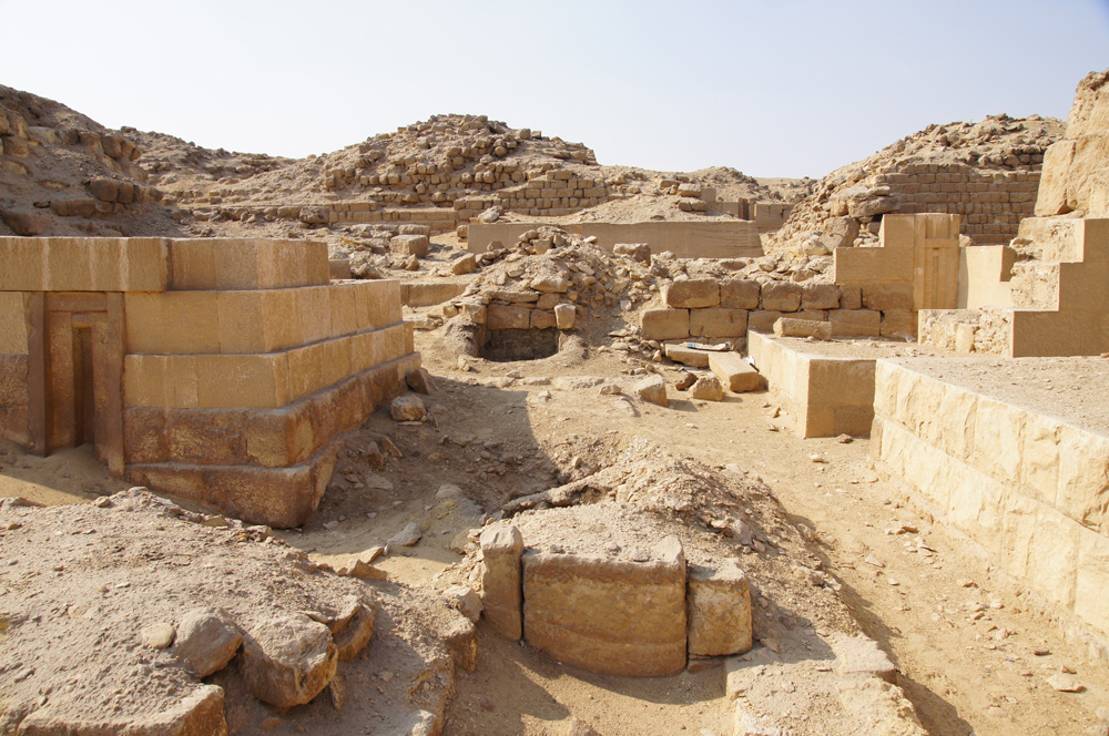 Western Cemetery: Site: Giza; View: G 2151, G 2134, G 2138, G 2130, G 2210