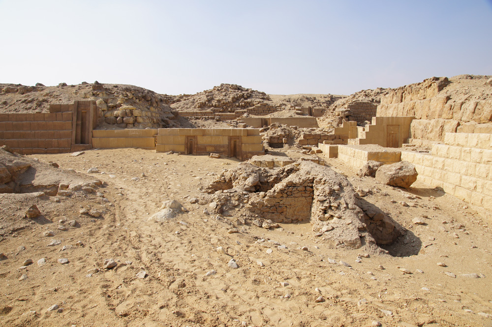 Western Cemetery: Site: Giza; View: G 2150, G 2151, G 2134, G 2138, G 2220, G 2130