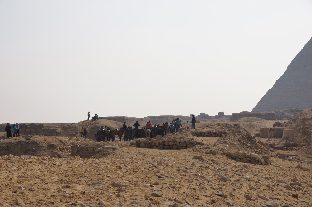 Western Cemetery: Site: Giza; View: G 2155, G 2156, G 4940, G 5230, G 5110