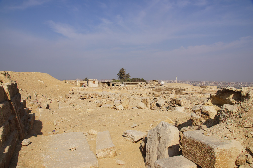 Western Cemetery: Site: Giza; View: G 2184, G 2186, G 2461 (?), G 2464 (?), G 2185 (?), G 2440 (?)
