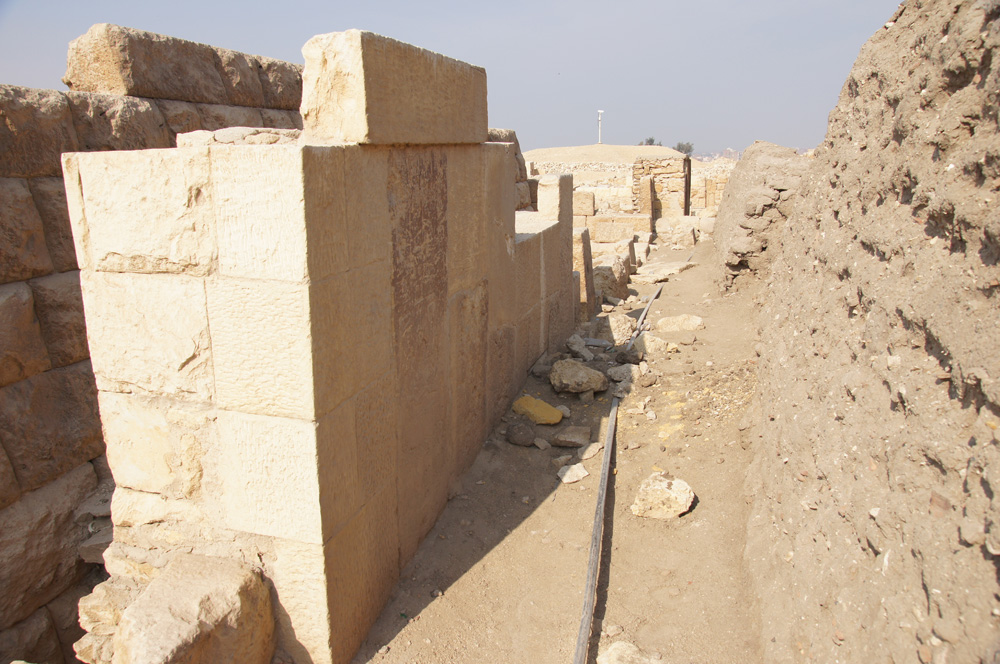 Western Cemetery: Site: Giza; View: G 2364, G 2365, G 2366, G 2360, G 2371