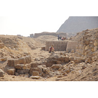 Western Cemetery: Site: Giza; View: G 2160, G 2165, G 2155, G 2156, G 4940(?)
