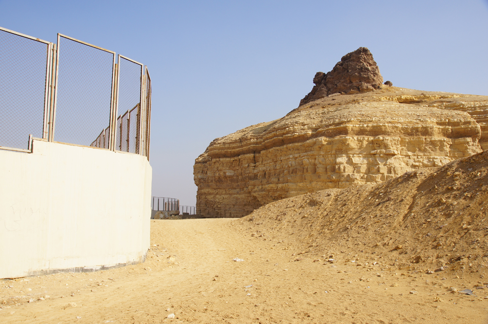 South Giza: Site: Giza; View: Southern Mount, Muslim Cemetery