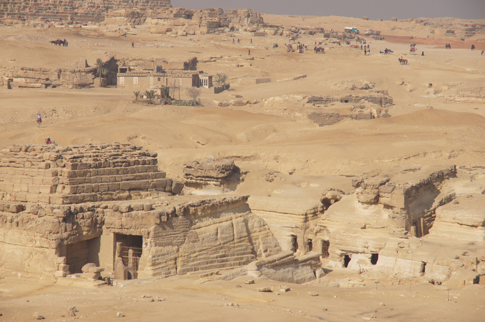 Central Field (Hassan): Site: Giza; View: G 8400, G 8404, G 8418, G 8420, G 8602, G 8606, G 8658, G 8620