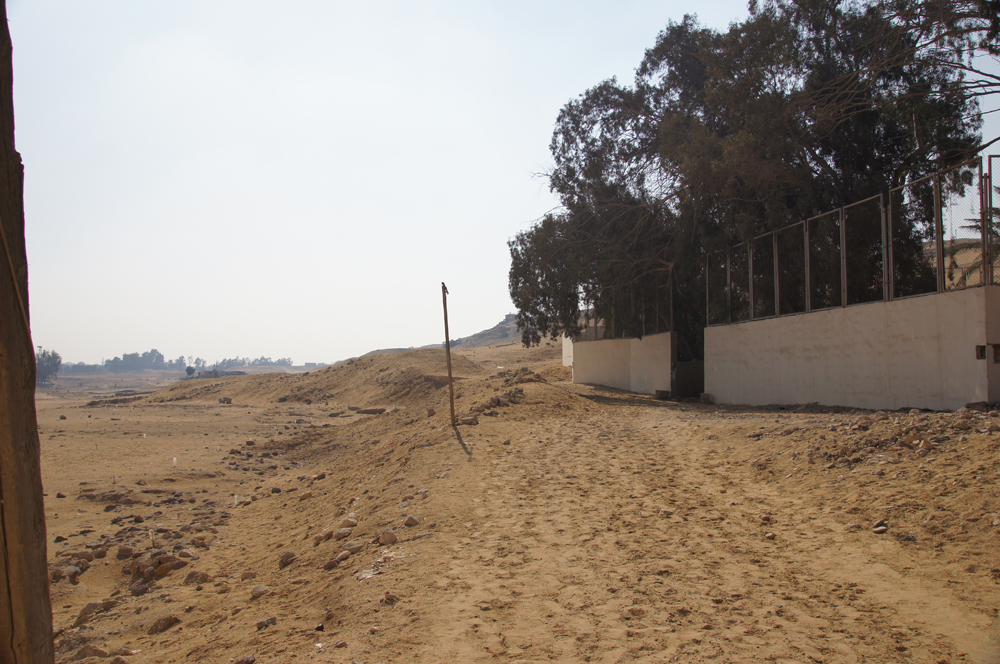 South Giza administrative area (Lehner): Site: Giza; View: South Giza, Muslim Cemetery