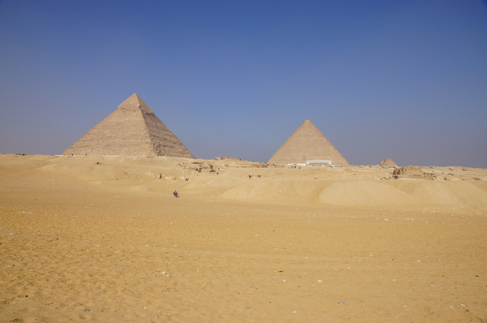 General View: Site: Giza; View: Giza Plateau