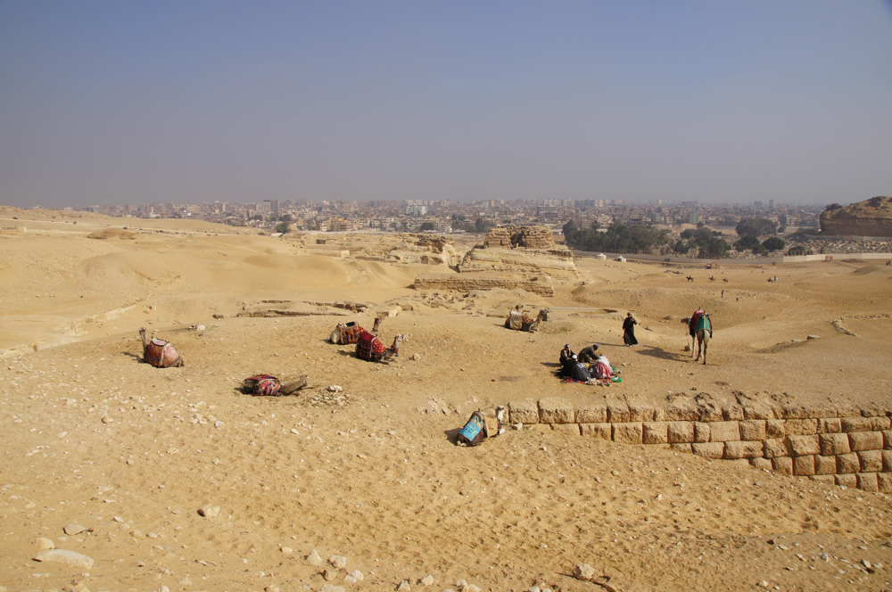 Central Field (Hassan): Site: Giza; View: G 8310, G 8400