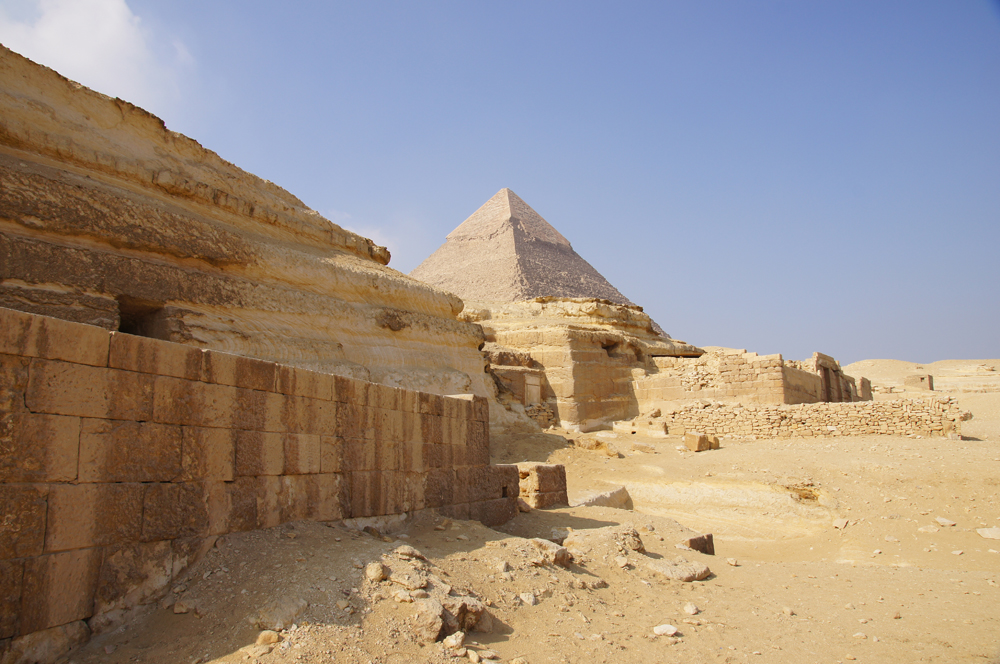 Central Field (Hassan): Site: Giza; View: G 8066, G 8070, G 8072, G 8080