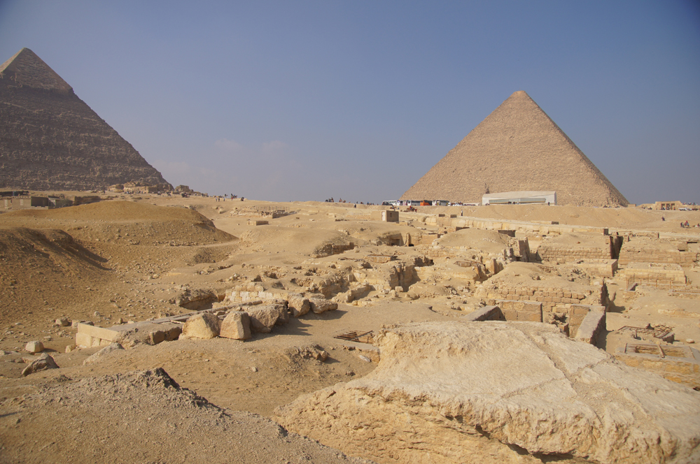 Central Field (Hassan): Site: Giza; View: G 8424