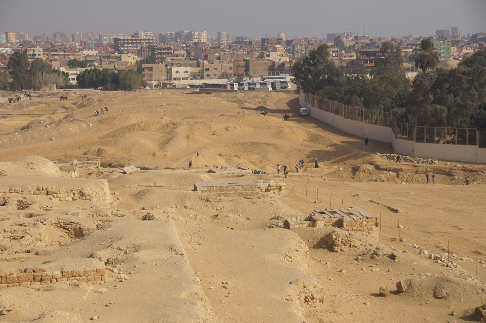 Central Field (Hassan): Site: Giza; View: G 8704?, G 8862, G 8860, G 8882, G 8698