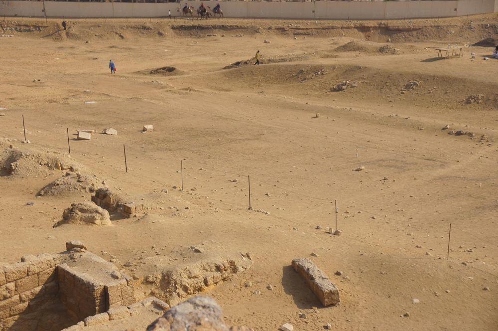 Central Field (Hassan): Site: Giza; View: G 8640, G 8650, G 8680, G 8682
