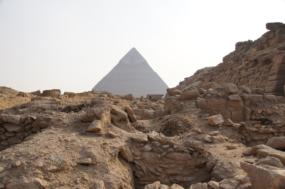 Western Cemetery: Site: Giza; View: Cemetery G 2000, G 2000, G 2501, G 2502
