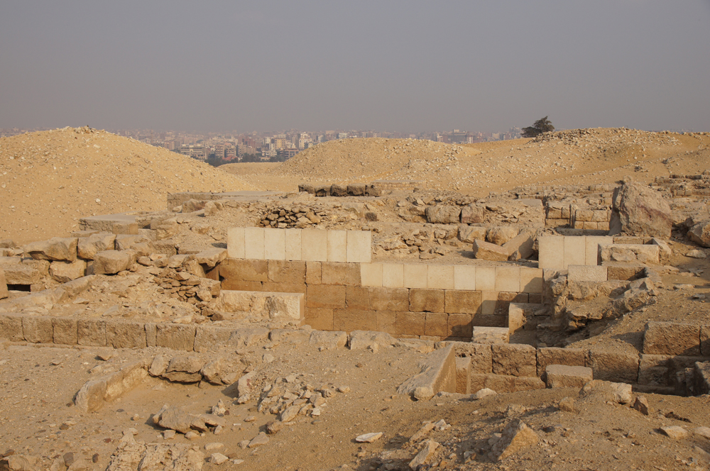 Western Cemetery: Site: Giza; View: Cemetery G 2000, G 2094, G 2092+2093