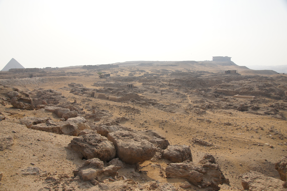 Western Cemetery: Site: Giza; View: Cemetery G 1100, Cemetery G 1200