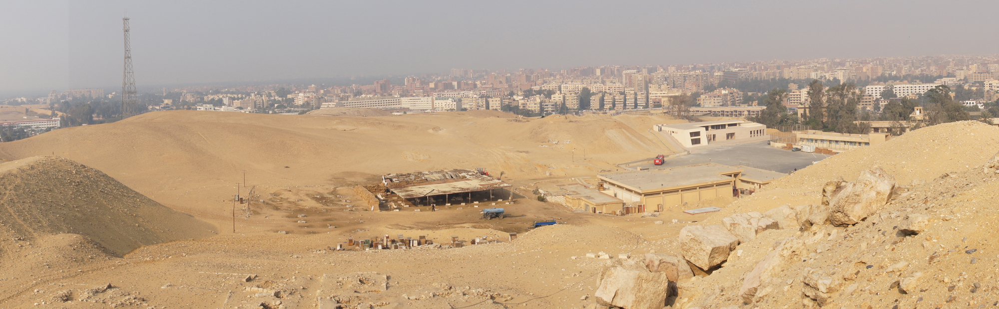 General View: Site: Giza; View: G 2000