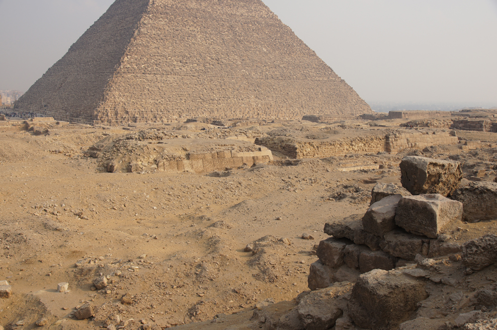 Western Cemetery: Site: Giza; View: G 2110, G 2100, G 2100-I
