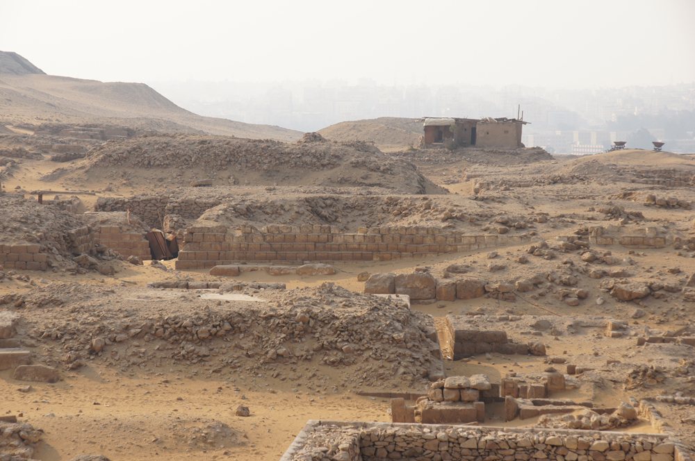Western Cemetery: Site: Giza; View: G 1016, G 1102?, G 1103?, G 1101, G 1152, D 100, G 1201