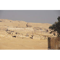 General View: Site: Giza; View: Central Field, Sphinx