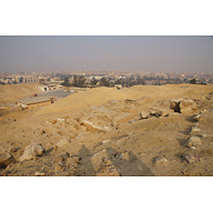 Western Cemetery: Site: Giza; View: G 2095, G 2094, G 2092+2093, G 2096, G 2097, G 2091, G 2088, G 2230+2231