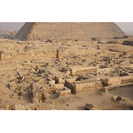 Western Cemetery: Site: Giza; View: Cemetery G 2000, G 2100, G 2100-I