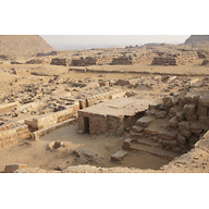 Western Cemetery: Site: Giza; View: G 2001, G 2006, G 2005