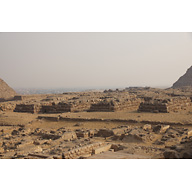 Western Cemetery: Site: Giza; View: Cemetery G 2000, G 4660, G 4560, G 4460, G 4360