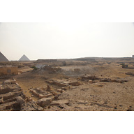 Western Cemetery: Site: Giza; View: D 105, D 107, S 2435/2443, S 2181/2260, Niankhhathor, D 213, D 212, D 201, D 214, D 211, D 210, D 208, D 209, D 204, D 207, D 82+D82 A