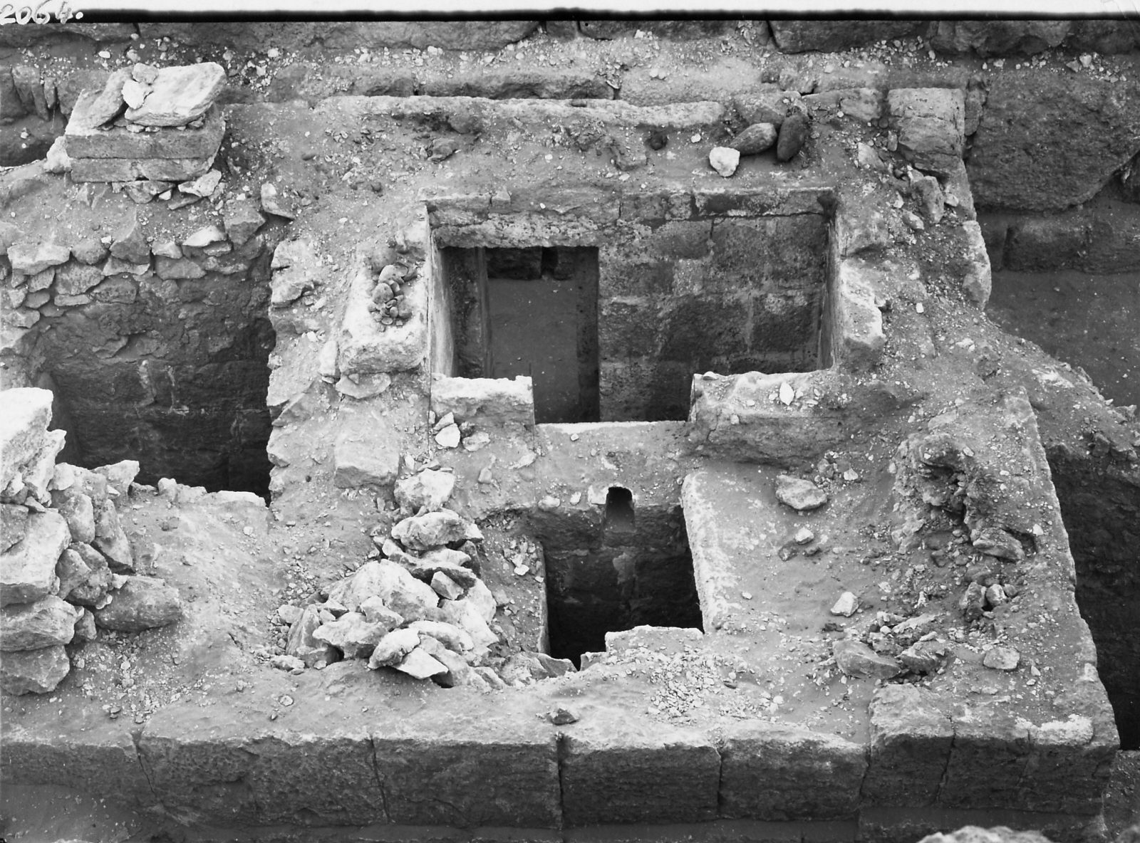 Western Cemetery: Site: Giza; View: G 4461